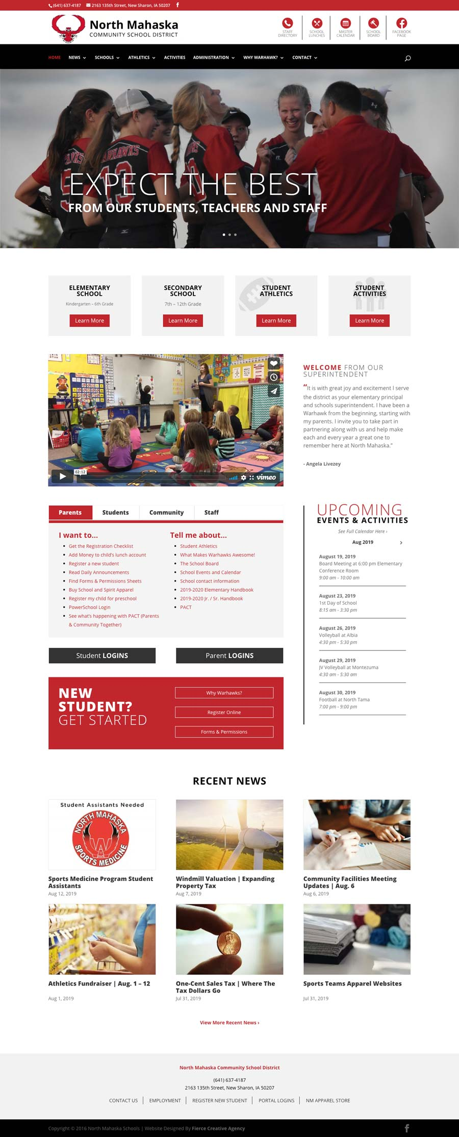 North Mahaska Schools | Community School District