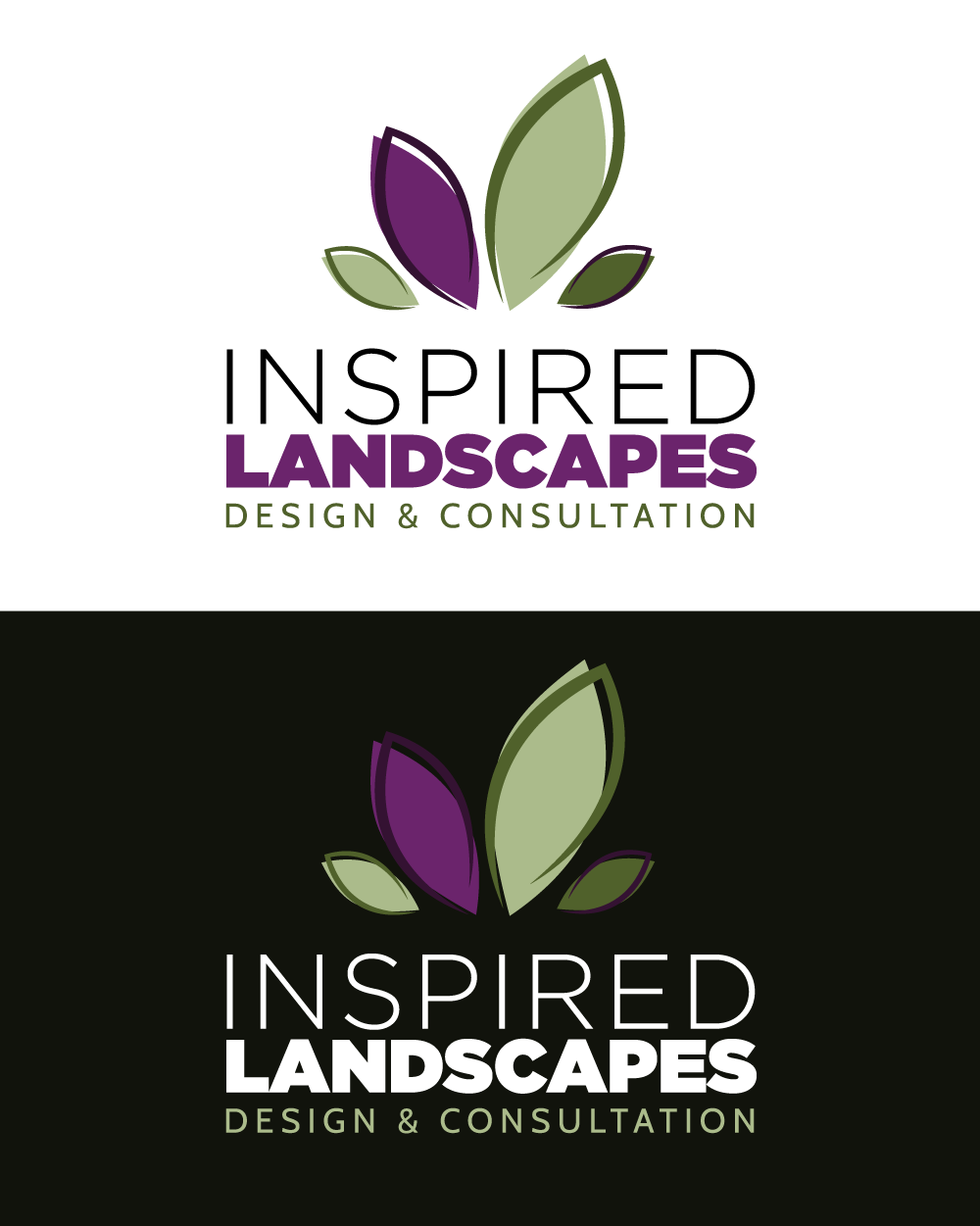 Inspired Landscapes Full Logo