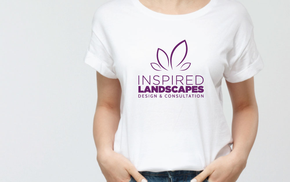 Inspired Landscapes - Single Color on Shirt