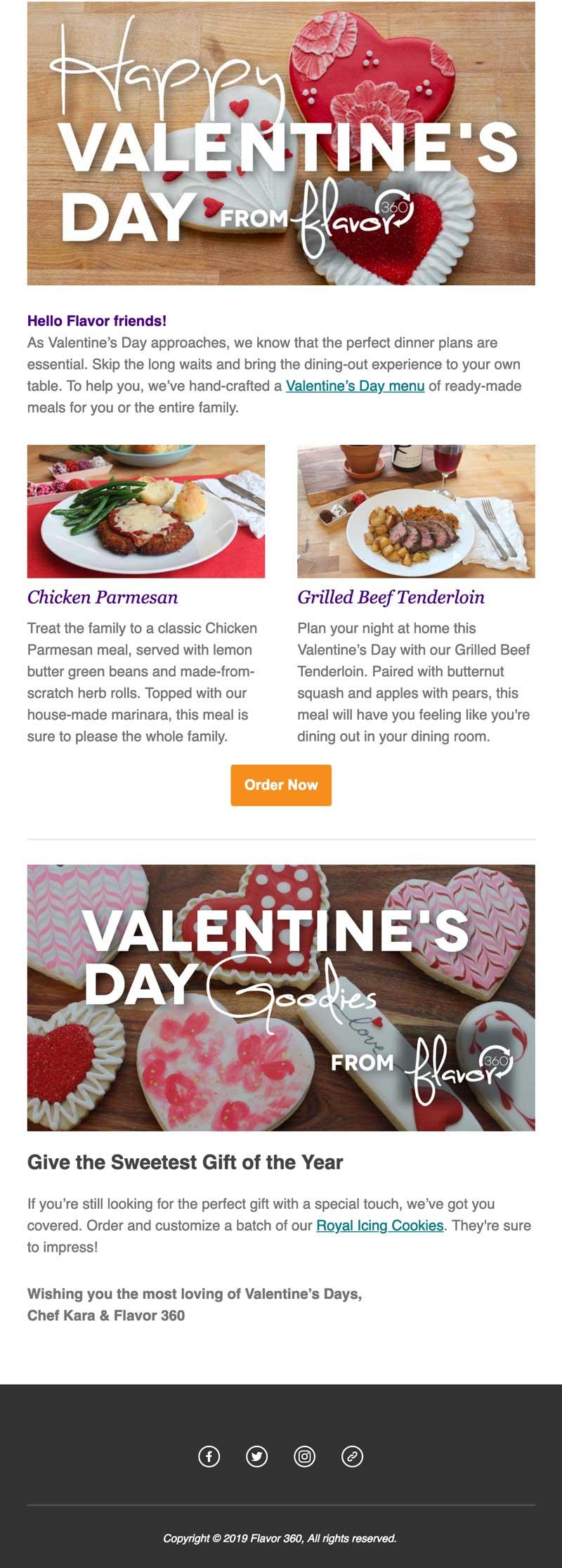 Flavor 360 - Valentine's Day Eblast