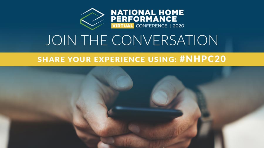National Home Performance Virtual Conference