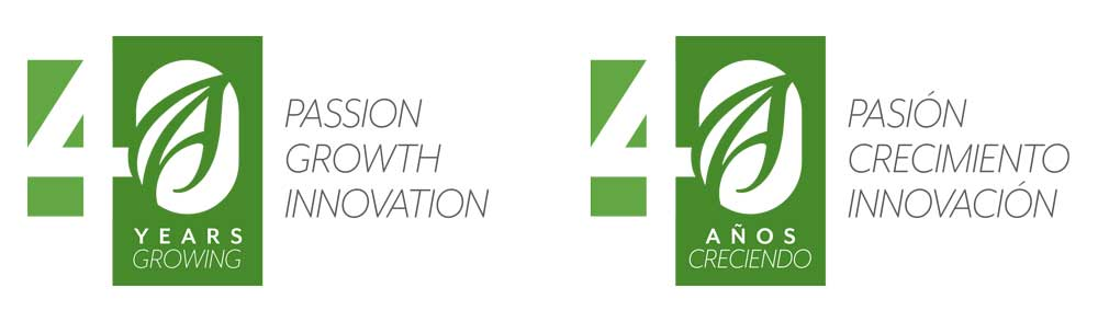 AHERN 40th Anniversary logo