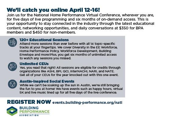 BPA 2021 National Conference mailer