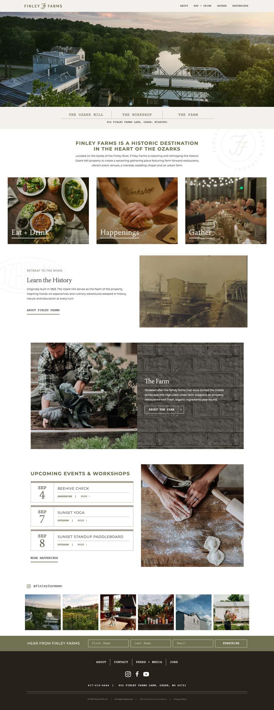 Finley Farms Homepage